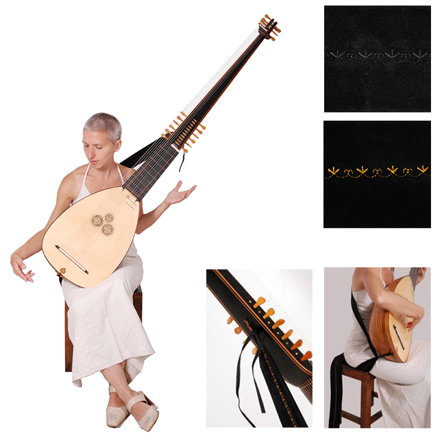 theorbo strap